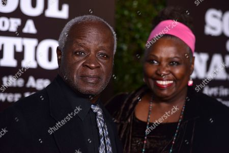 Art Evans, Babe Evans. Art Evans and Babe Evans arrive at The Broad Presents West Coast Debut of 'Soul of a Nation: Art in the Age of Black Power 1963-1983' on in Los Angeles