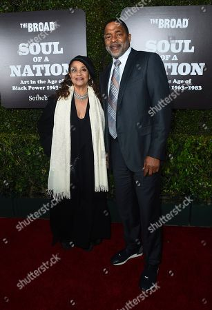 Debbie Allen, Norm Nixon. Debbie Allen and Norm Nixon arrive at The Broad Presents West Coast Debut of 'Soul of a Nation: Art in the Age of Black Power 1963-1983' on in Los Angeles