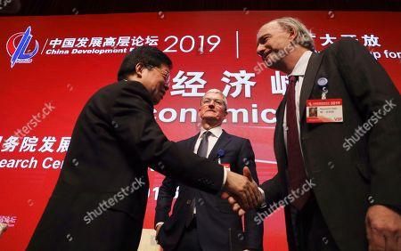 Editorial image of Economic Summit, Beijing, China - 23 Mar 2019