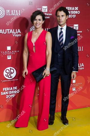 Stock Picture of Finito de Cordoba and wife Arancha del Sol