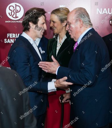 Bullfighter Juan Jose Padilla, Princess Elena, Juan Carlos