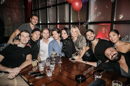 Editorial image of Oliver Ayling burthday celebration, Barbary Deli and Cocktail Club, Dubai, UAE - 22 Mar 2019
