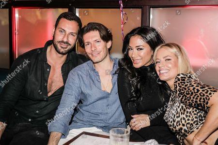 Editorial photo of Oliver Ayling burthday celebration, Barbary Deli and Cocktail Club, Dubai, UAE - 22 Mar 2019