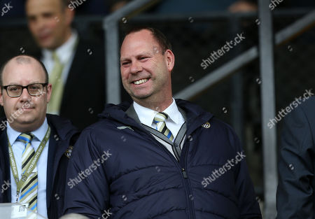 Notts County's owner Alan Hardy