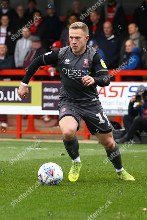 Danny Martin Rowe of Lincoln City during Crawley Town vs Lincoln City, Sky Bet EFL League 2 Football at Broadfield Stadium on 23rd March 2019