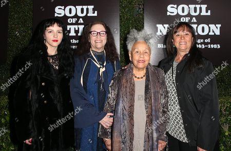 Zola Saar, Lezley Saar, Betye Saar, Tracye A Saar Cavanaugh