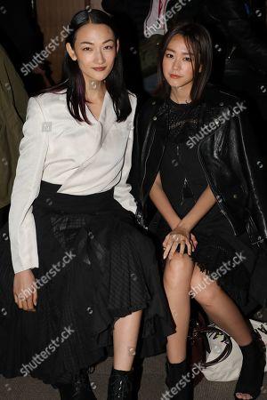 Ai Tominaga and Mirei Kiritani