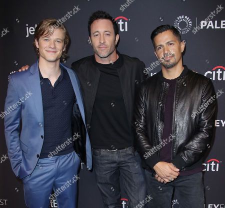 Stock Image of Lucas Till, Alex O'Laughlin and Jay Hernandez