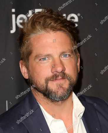 """Zachary Knighton, cast member of CBS's """"Magnum P.I."""" arrives at the 36th Annual PaleyFest at The Dolby Theatre, in Los Angeles"""