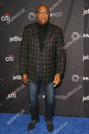 """Chi McBride, cast member of CBS's """"Hawaii Five-0"""" arrives at the 36th Annual PaleyFest at The Dolby Theatre, in Los Angeles"""
