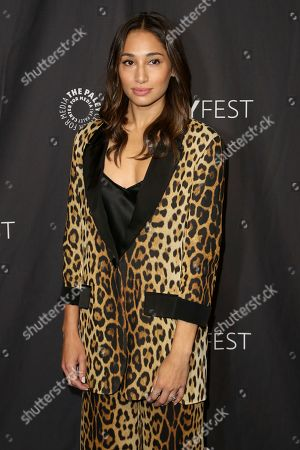 """Meaghan Rath, cast member of CBS's """"Hawai Five-0"""" arrives at the 36th Annual PaleyFest at The Dolby Theatre, in Los Angeles"""