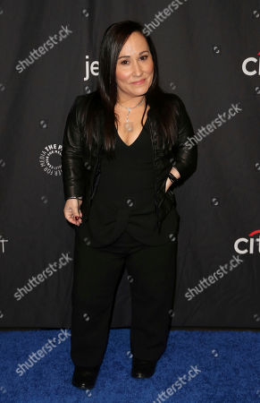 """Stock Photo of Meredith Eaton. Meaghan Rath, cast member of CBS's """"MacGyver"""" arrives at the 36th Annual PaleyFest at The Dolby Theatre, in Los Angeles"""