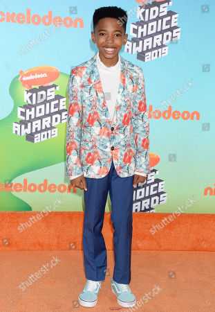 Editorial picture of Nickelodeon Kids' Choice Awards, Los Angeles, USA - 23 Mar 2019