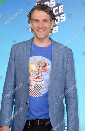 Stock Photo of Jeffrey Nicholas Brown arrives at the Nickelodeon Kids' Choice Awards, at the Galen Center in Los Angeles
