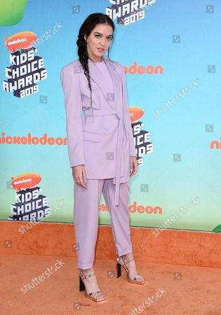 Lilimar Hernandez. Lilimar arrives at the Nickelodeon Kids' Choice Awards, at the Galen Center in Los Angeles