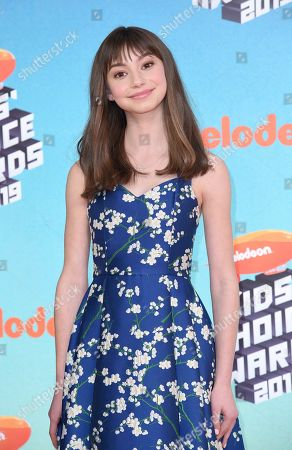 Editorial photo of 2019 Kids' Choice Awards - Arrivals, Los Angeles, USA - 23 Mar 2019