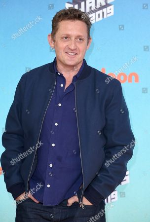 Alex Winter arrives at the Nickelodeon Kids' Choice Awards, at the Galen Center in Los Angeles