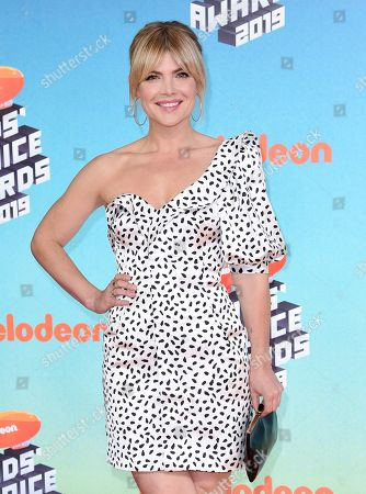 Stevie Nelson arrives at the Nickelodeon Kids' Choice Awards, at the Galen Center in Los Angeles