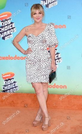 Stock Photo of Stevie Nelson arrives at the Nickelodeon Kids' Choice Awards, at the Galen Center in Los Angeles
