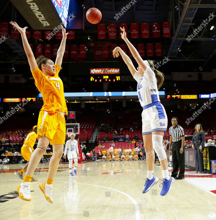 Editorial photo of Women's NCAA Championship Basketball Tennessee vs UCLA, College Park, USA - 23 Mar 2019