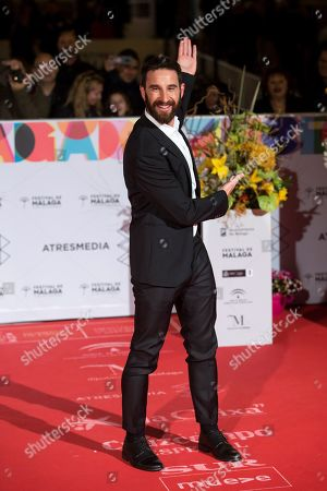 Dani Rovira poses upon arrival at the closing of the 22nd Malaga Spanish Film Festival, at the Cervantes Theater, in Malaga, Andalusia, Spain, 23 March 2019.