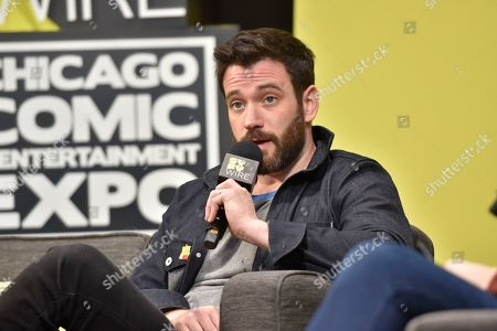 Colin Donnell seen on day 2 at C2E2 at McCormick Place on in Chicago
