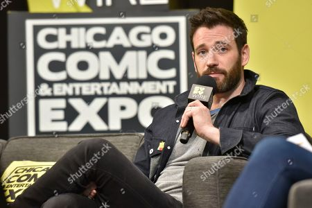 Stock Picture of Colin Donnell seen on day 2 at C2E2 at McCormick Place on in Chicago