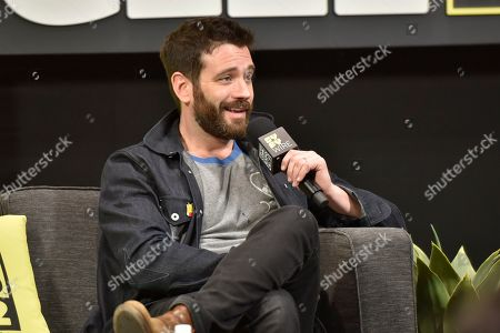 Stock Photo of Colin Donnell seen on day 2 at C2E2 at McCormick Place on in Chicago