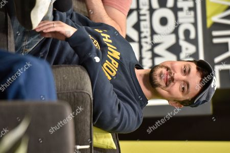 Stock Picture of John Francis Daley seen on day 2 at C2E2 at McCormick Place on in Chicago