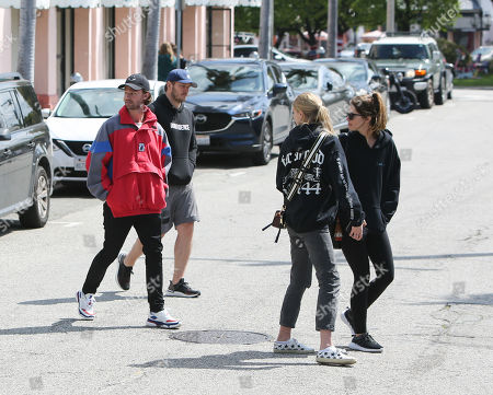 Patrick Schwarzenegger, Chris Pratt, Abby Champion and Katherine Schwarzenegger