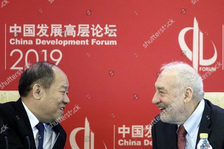 Editorial photo of China Development Forum in Beijing - 24 Mar 2019