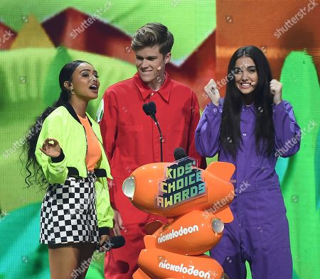 Editorial photo of Nickelodeon Kids' Choice Awards, Show, Galen Center, Los Angeles, USA - 23 Mar 2019