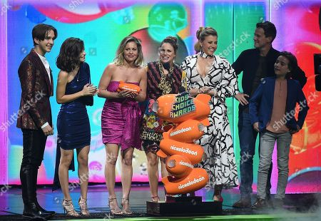 Editorial picture of Nickelodeon Kids' Choice Awards, Show, Galen Center, Los Angeles, USA - 23 Mar 2019