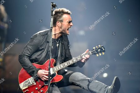 Eric Church performs during his Double Down tour at the Allstate Arena, in Rosemont, Ill
