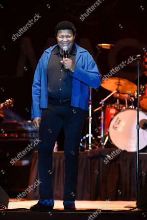 Stock Picture of Ernest Evans, know as Chubby Checker performs at Ultimate Flashback Concert at Magic City Casino on in Miami