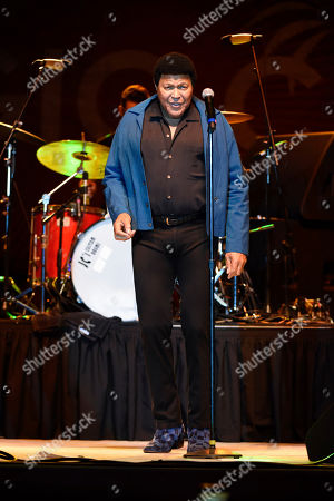 Editorial photo of Chubby Checker, Mary Wilson and Martha Reeves in Concert - , Miami, USA - 24 Mar 2019