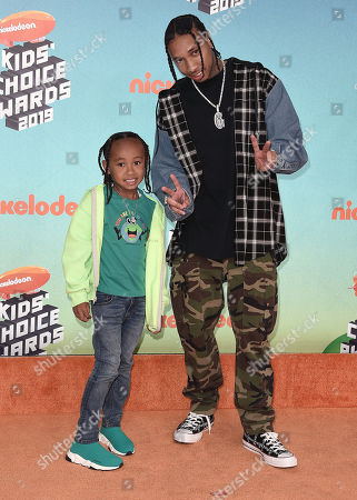 Stock Photo of Tyga and King Cairo Stevenson