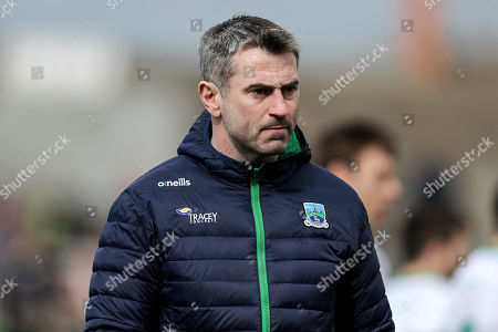 Meath vs Fermanagh. Fermanagh manager Rory Gallagher