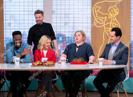 Daniel Lawrence Taylor, Kevin with Soda Bread, Saoirse-Monica Jackson, Siobhan McSweeney and Jimmy Carr