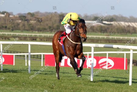 Stock Picture of The Tote Irish Lincolnshire. Colin Keane onboard Karayaan comes home to win