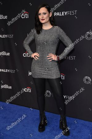 """Mary Chieffo attends the 36th Annual PaleyFest """"Star Trek: Discovery and The Twilight Zone"""" at the Dolby Theatre, in Los Angeles"""