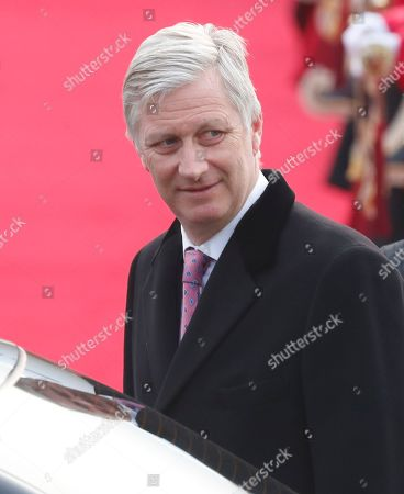 Belgian Royals state visit South Korea Day Stock Photos