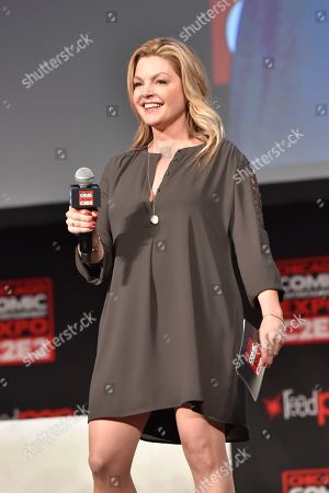 Clare Kramer seen on day 3 at C2E2 at McCormick Place on in Chicago