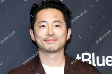 Stock Picture of Korean-American actor Steven Yeun arrives for The Paley Center for Media's PaleyFest LA 2019 presentation for the television show 'The Twilight Zone' at the Dolby Theatre in Los Angeles, California, USA, 24 March 2019.
