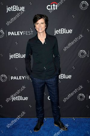 Stock Image of Tig Notaro arrives for The Paley Center for Media's PaleyFest LA 2019 presentation for the television show 'Star Trek: Discovery' at the Dolby Theatre in Los Angeles, California, USA, 24 March 2019.