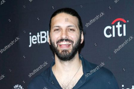 Stock Photo of Shazad Latif arrives for The Paley Center for Media's PaleyFest LA 2019 presentation for the television show 'Star Trek: Discovery' at the Dolby Theatre in Los Angeles, California, USA, 24 March 2019.