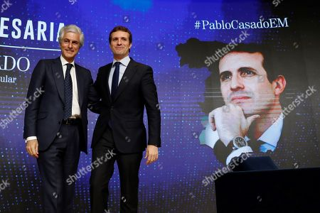 Editorial image of Pablo Casado attends forum, Madrid, Spain - 25 Mar 2019