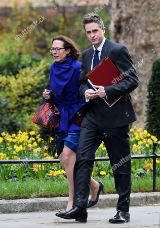 Gavin Williamson, Secretary of State for Defence and Baroness Evans of Bowes Park, Leader of the House of Lords, Lord Privy Seal