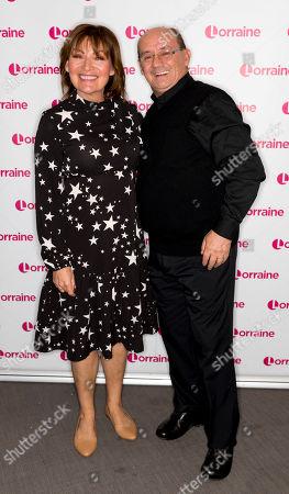 Lorraine Kelly and Brendan O'Carroll