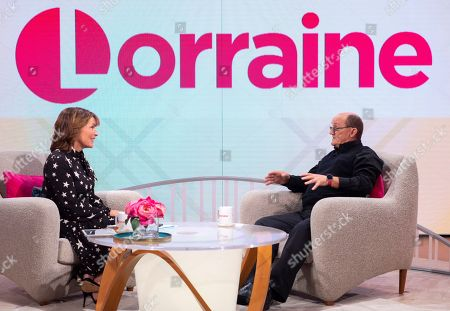 Stock Picture of Lorraine Kelly and Brendan O'Carroll